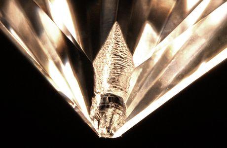 ダイヤモンド キューレット 欠ける