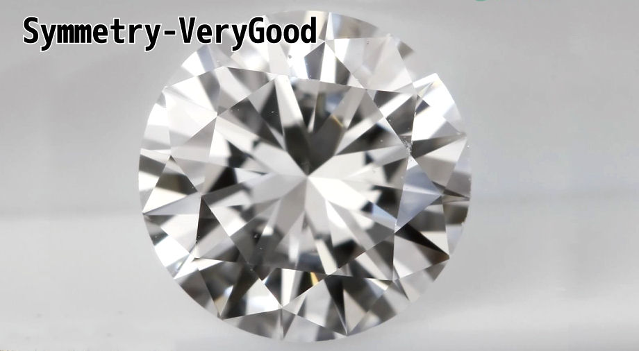 ダイヤモンドシンメトリー(対称性)ベリーグッドVerygood