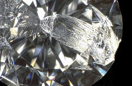 ダイヤモンドのカケ