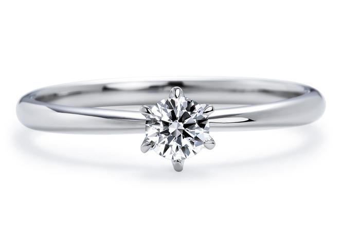 いのうえダイヤモンドの婚約指輪